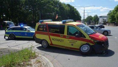 Photo of Bremen: Verkehrsunfall mit Rettungsdienstfahrzeug